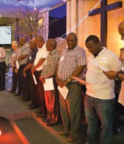 Goudland verwelkom agt nuwe predikante